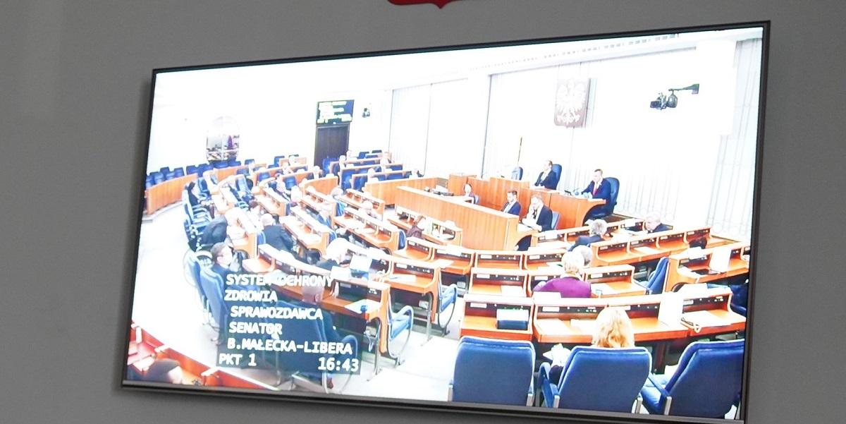 Senat przyjął poprawki w tarczy antykryzysowej